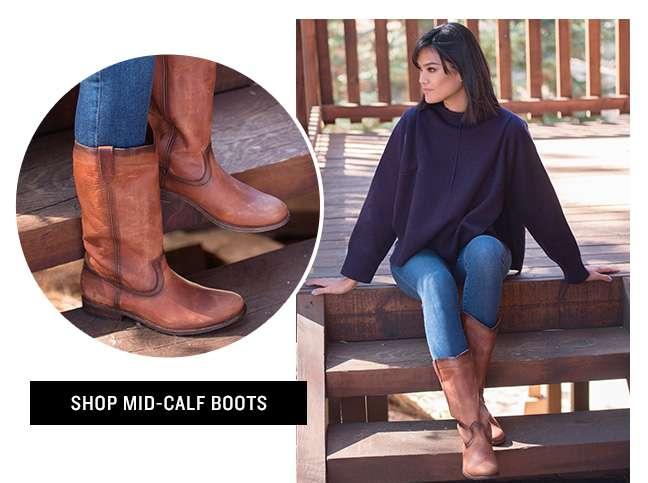 Shop Mid Calf Boots