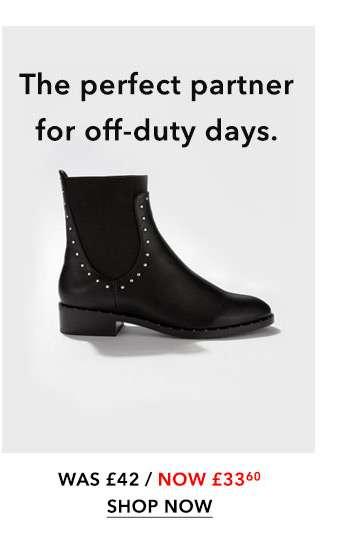 AMELIA Studded Chelsea Boots