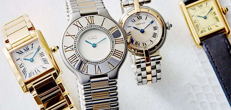 Vintage Cartier & More Luxury Watches