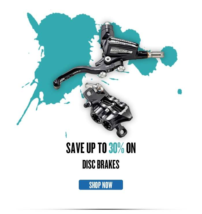 Save up to 35% on Disc Brakes