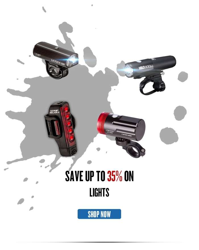 Save up to 35%  on all Lights