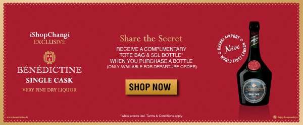 iShopChangi Exclusive Benedictine Single Cask | Shop Now