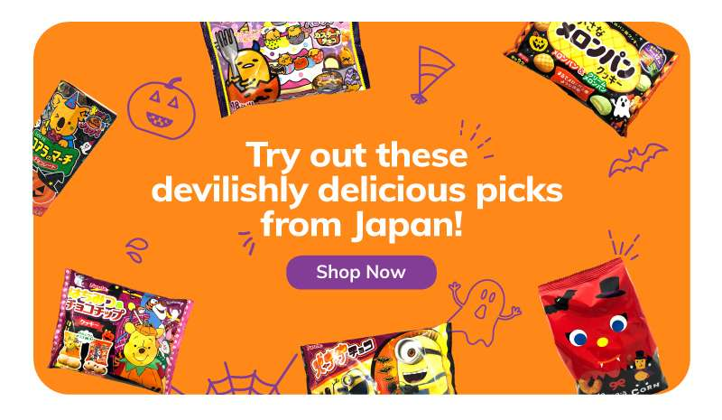 Try out these devilishly delicious picks from Japan!