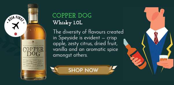 Copper Dog Whisky 1.0L