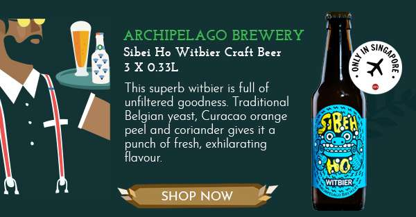 Archipelago Brewery Sibei Ho Witbier Craft Beer
