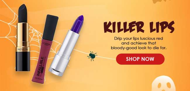 Click here to shop now for 'Killer Lips'
