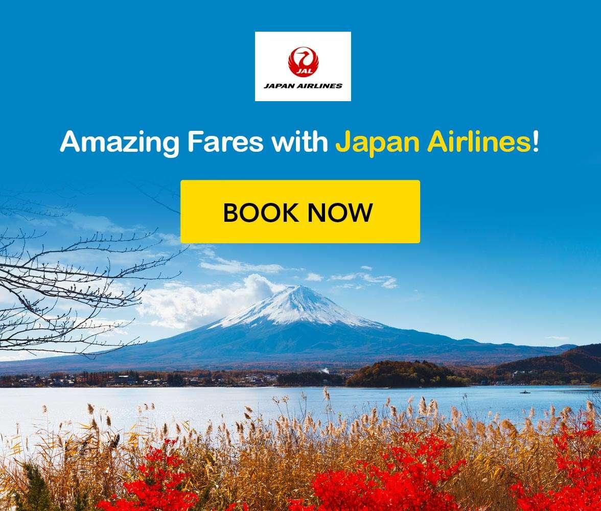Fantastic Japan destinations with Japan Airlines