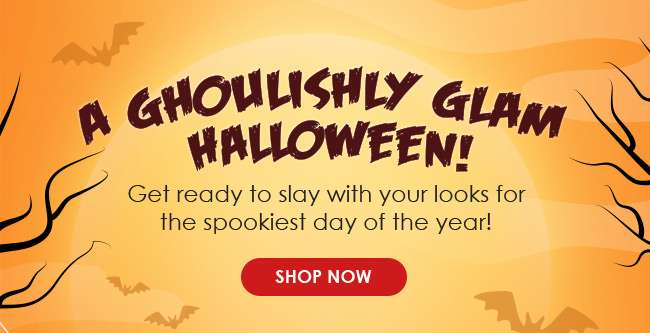 Shop for a Ghoulishly Glam Halloween!
