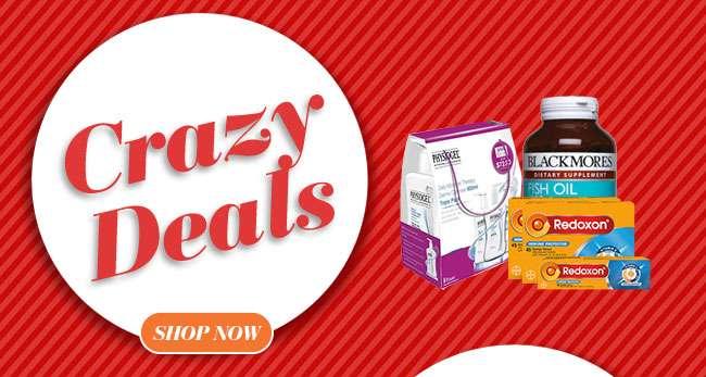 Click hereto shop for Crazy Deals!