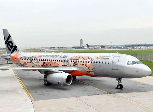 Darwin Plane Livery Unveiled