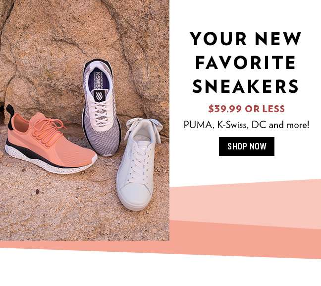 $39.99 or Less Sneakers