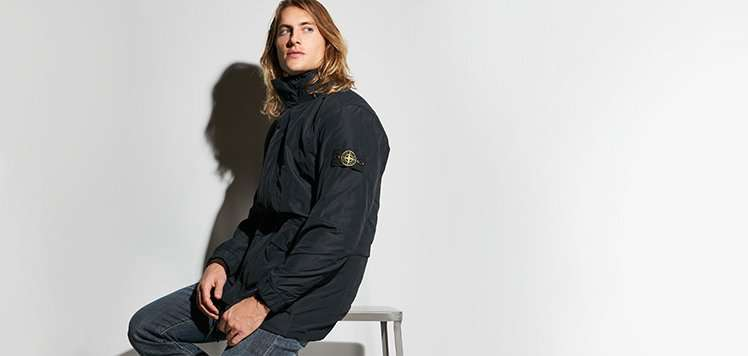 Outerwear With Stone Island