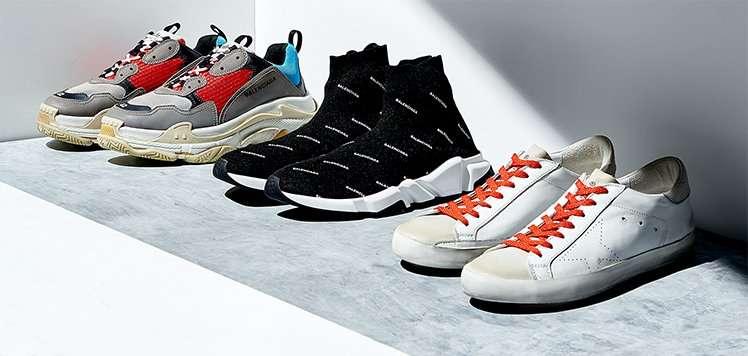 Balenciaga & More Designer Sneakers