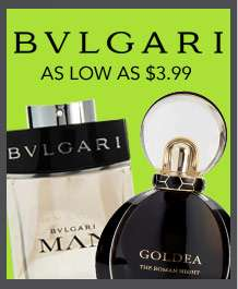 Shop BVLGARI sales collection. As low as $3.99