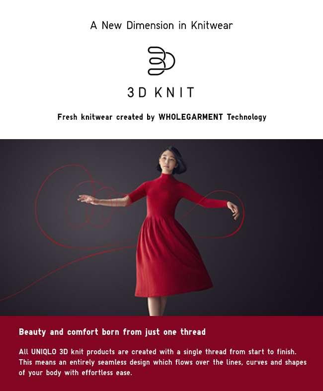 3D Knit Dress