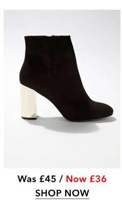 Adele Gold Heeled Boot