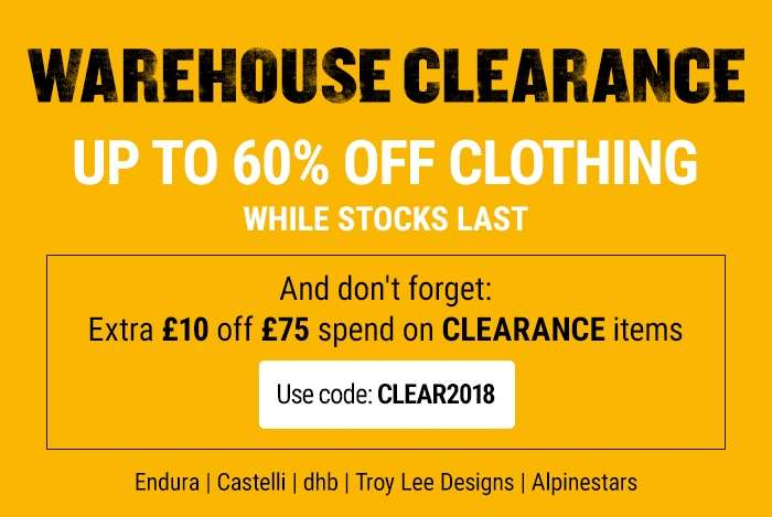 WAREHOUSE CLEARANCE UP TO 60% OFF WHILE STOCKS LAST