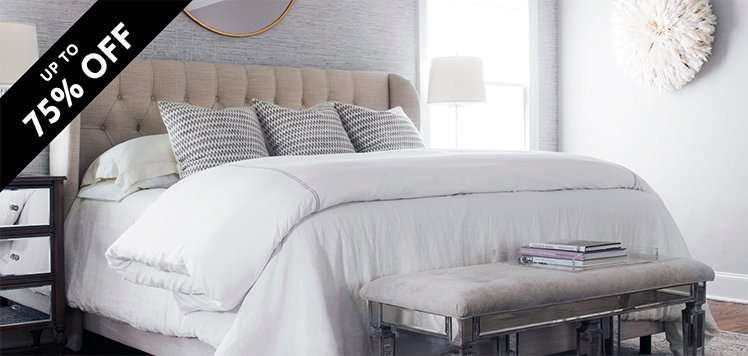 Master Suite Bedding & Bath