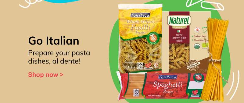 Go italian - Prepare your pasta dishes, al dente!
