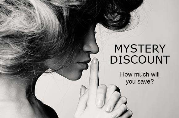 Unlock Your Mystery Discount!