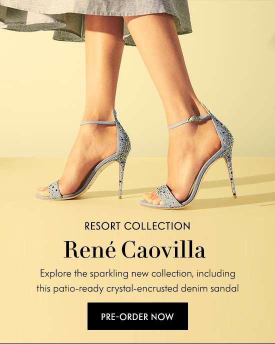 Pre-Order Rene Caovilla Resort