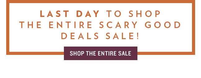 Shop Scary Deals