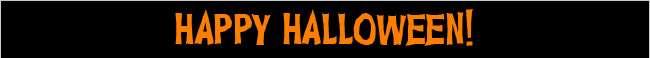 Happy Halloween! Shop Now