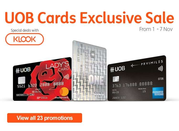 UOB Cards Exclusive Sale