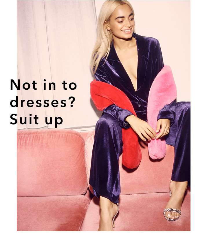 Not in to dresses? suit up - Shop crushin' co-ords
