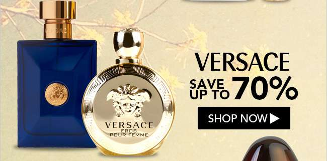Versace. Save up to 70%. Shop Now
