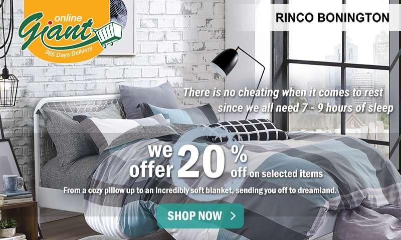 Rinco Bonington: 20% OFF on Rinco Bonington. Shop Now!
