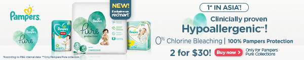 Pampers Pure now available exclusively on RedMart!