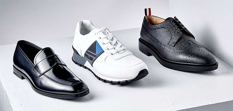 High-End Shoes With Bally