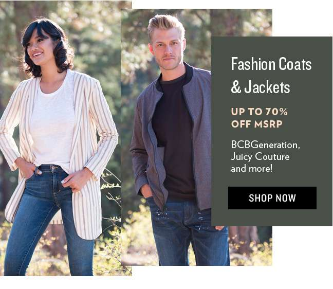 Shop Fashion Coats