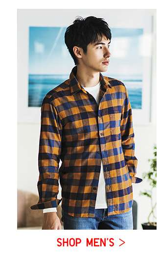 ARIGATO PRICE: Shop Men's Flannel Shirts at $19.90