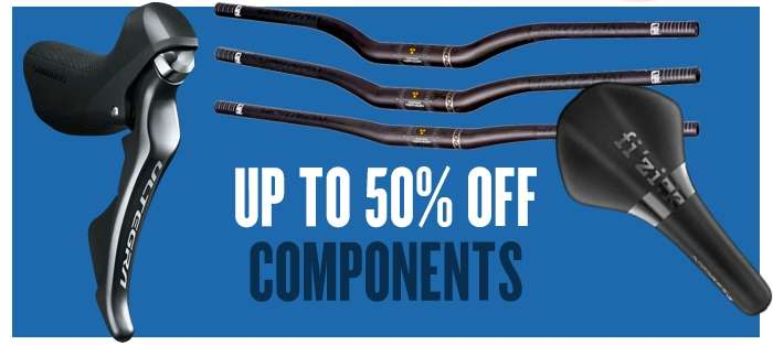Up to 50% off Components