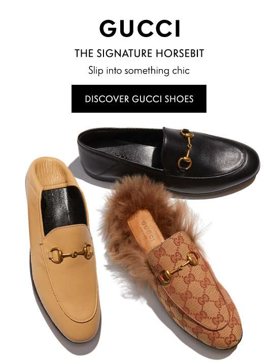 Discover Gucci Shoes