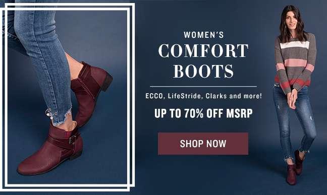 Shop Comfort Boots