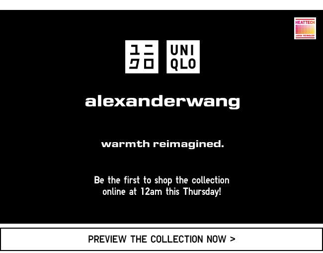 Alexander Wang Preview Collection