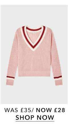 Pink Cricket Knitted Jumper