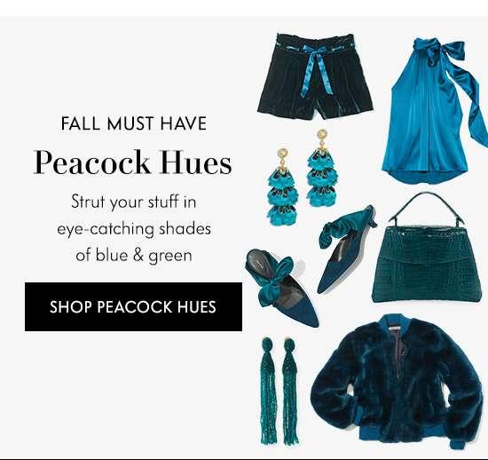 Shop Peacock Hues