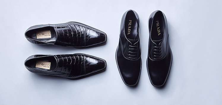 Luxe Shoes With Caporicci