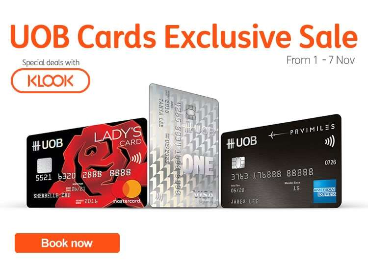 UOB Cards Exclusive Sale