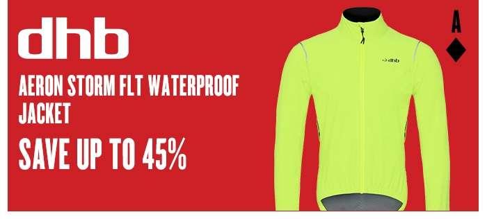 dhb Aeron Storm FLT Waterproof Jacket