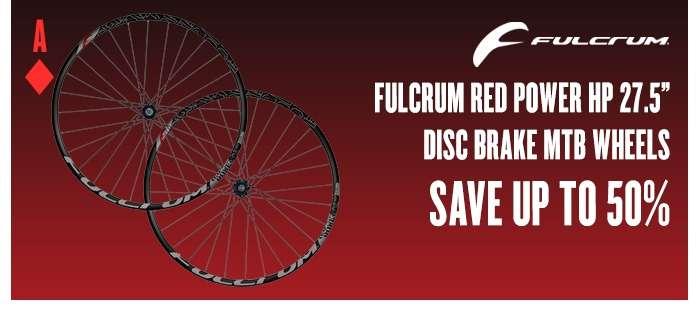 Fulcrum Red Power HP 27.5 Disc Brake MTB Wheels