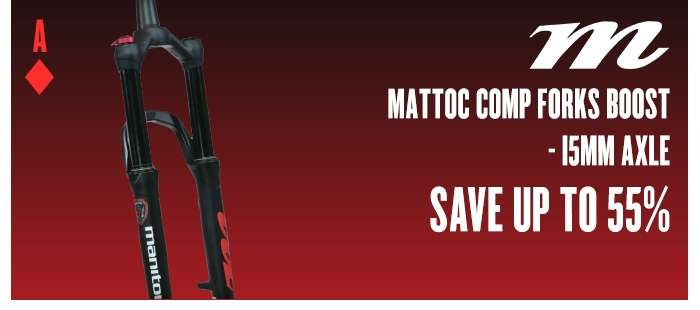 Manitou Mattoc Comp Forks BOOST - 15mm Axle