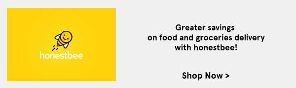 Honestbee: Greater savings on food and groceries delivered with honestbee!