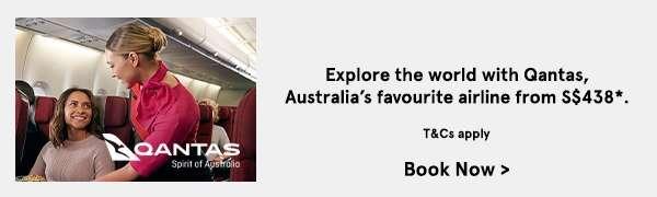 Explore the world with Qantas, Australia's favourite airline