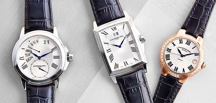 Raymond Weil & More Classic Watches for Women