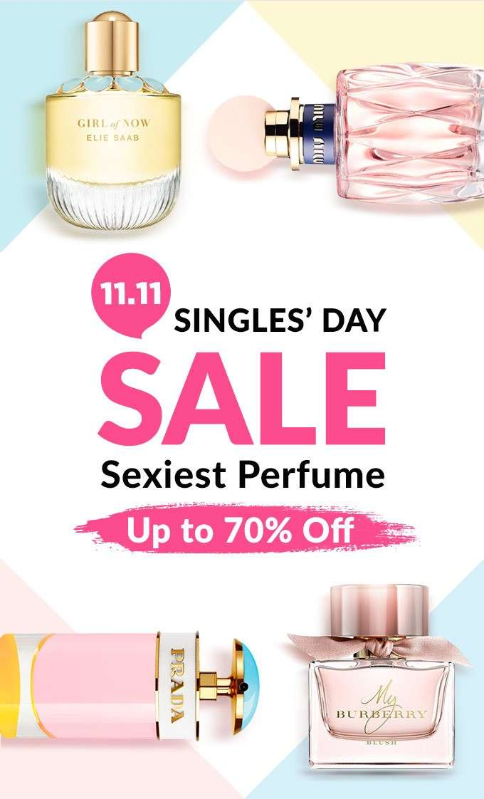 SINGLES' DAY SALE! Sexiest Perfume Up to 70% Off
